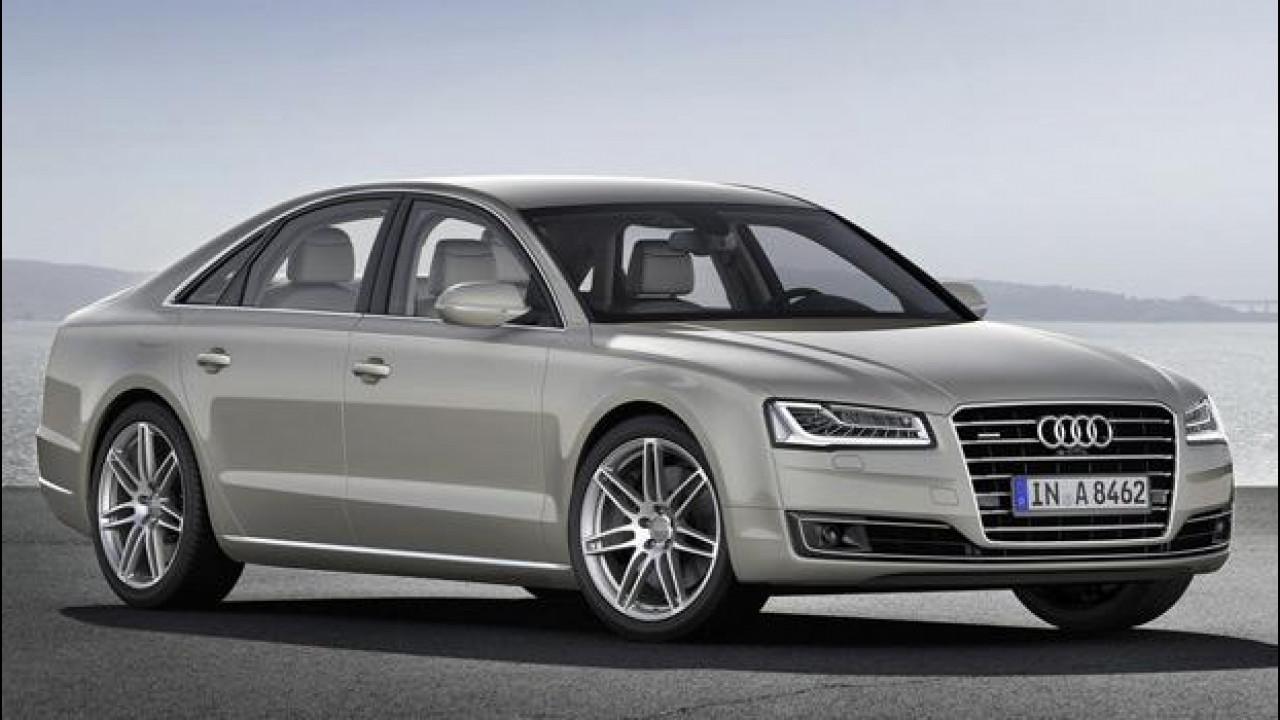 [Copertina] - Audi A8 restyling, i prezzi