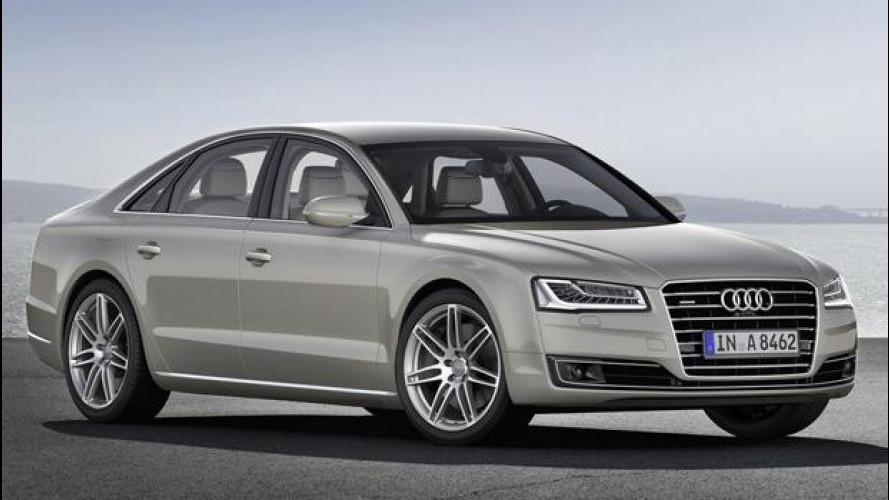 Audi A8 restyling, i prezzi