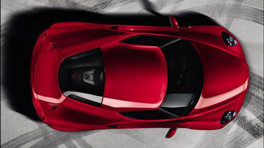 Alfa Romeo 4C, una piccola Ferrari