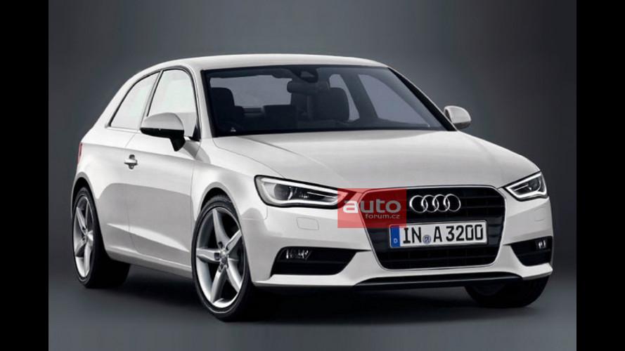 Nuova Audi A3, la prima foto