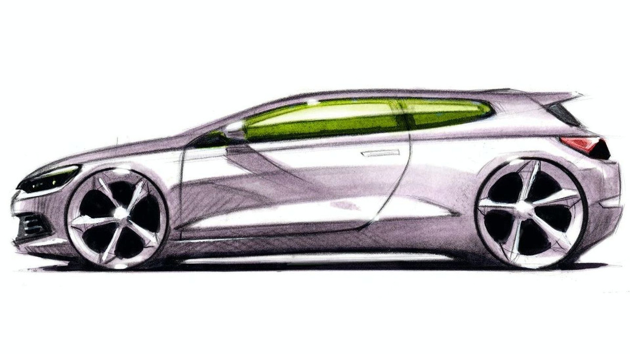 Bocetos Volkswagen Scirocco