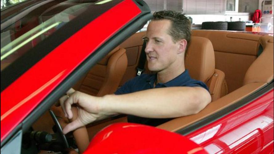Schumacher torna a casa