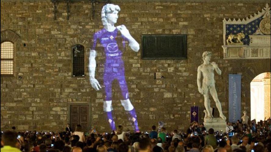 Mazda è ancora sponsor della Fiorentina per la stagione di serie A 2012-2013
