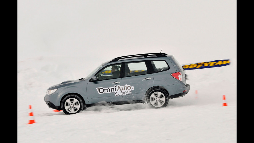 Impara a guidare sulla neve con OmniAuto.it School