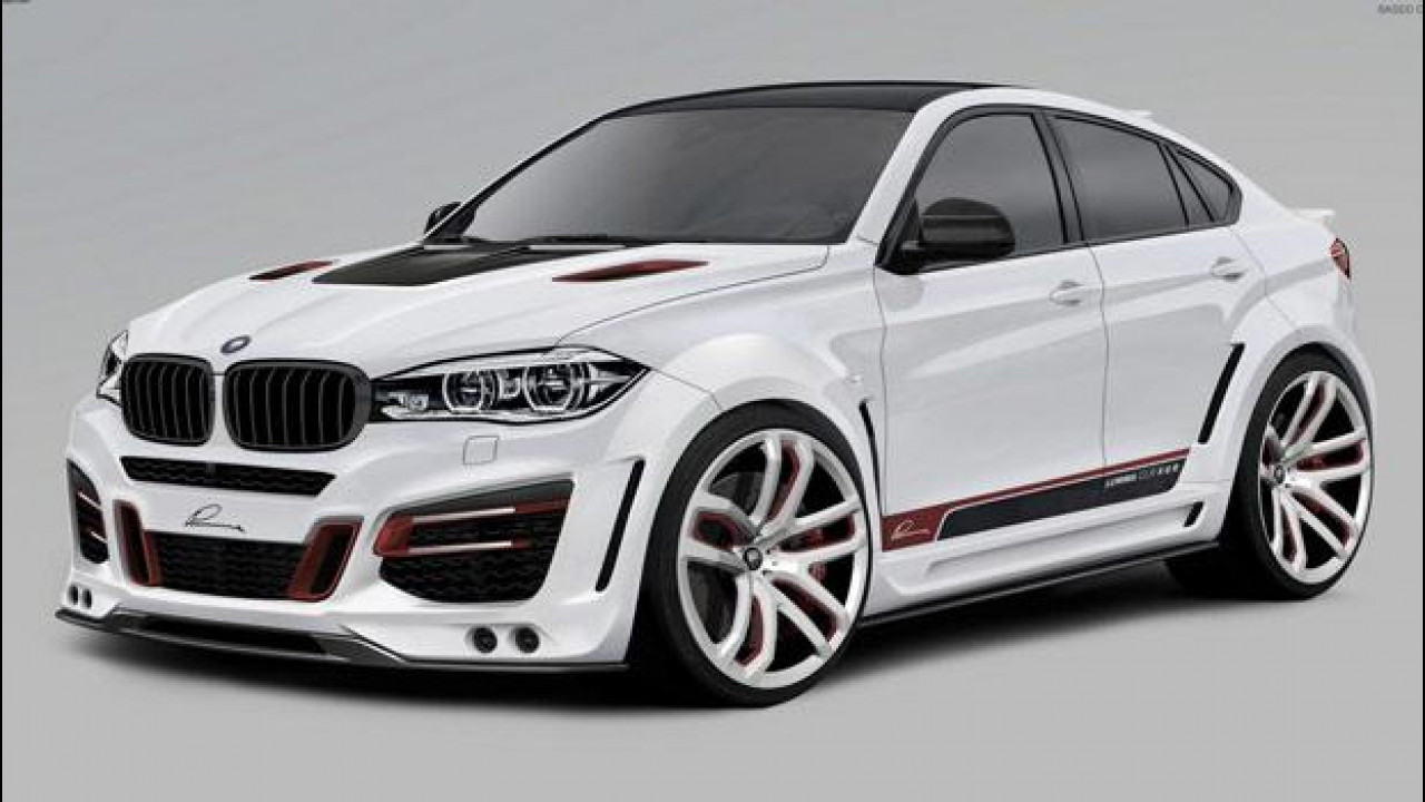 [Copertina] - BMW X6 Lumma CLR X 650, esagerata in ogni senso