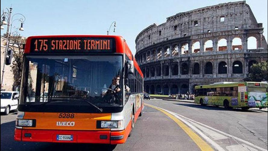 Trasporto pubblico, a Roma abbonamenti annuali agevolati per gli over 65
