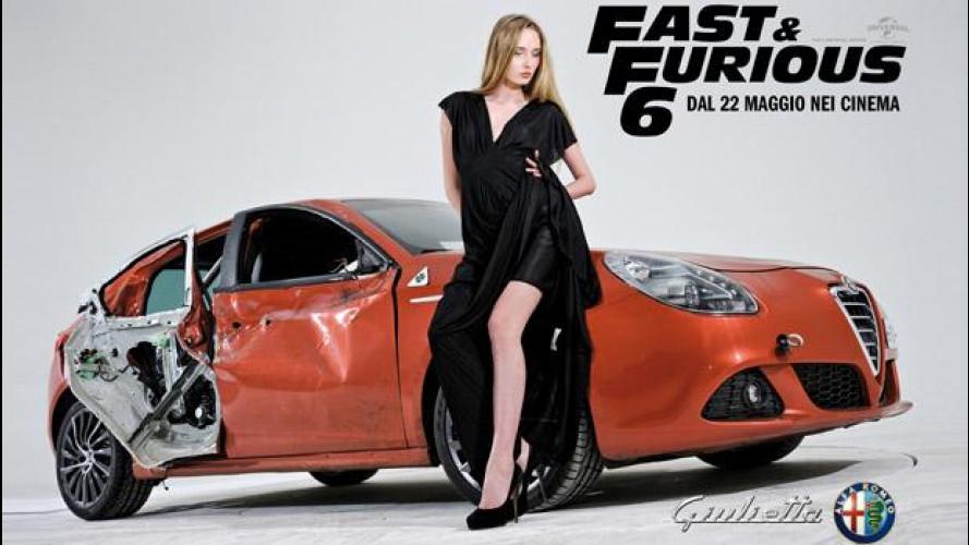L'Alfa Romeo Giulietta di Fast&Furious 6 mostra i segni della lotta