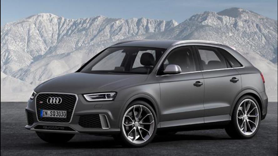 Audi RS Q3: prezzo da 57.900 euro