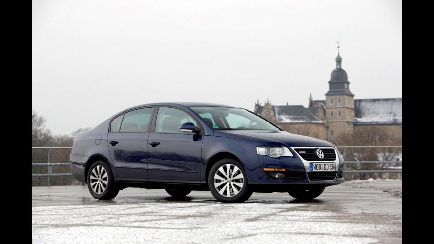 Volkswagen Passat BlueMotion, BlueTDI e TSI EcoFuel