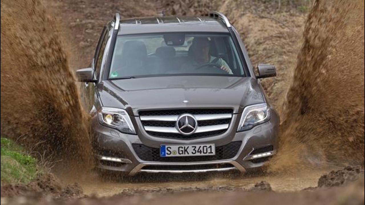 [Copertina] - Mercedes GLK restyling, c'è più fuoristrada nel suo DNA