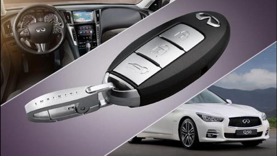 Infiniti Q50 e la tecnologia che memorizza le preferenze del guidatore