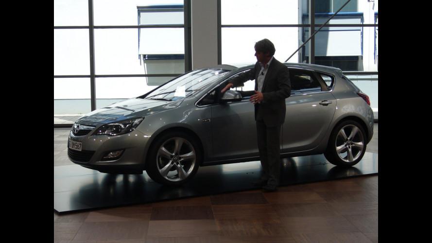 Nuova Opel Astra: coupé per famiglia