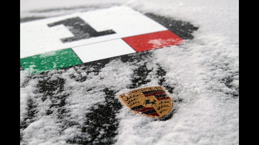 Nuova Porsche 911: a suo agio anche sulla neve