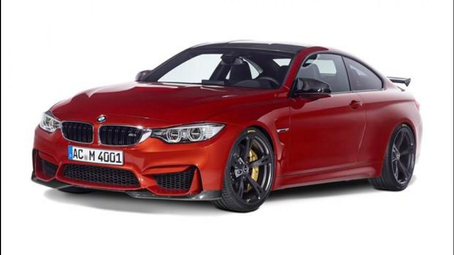 BMW M4, tanti cavalli in più