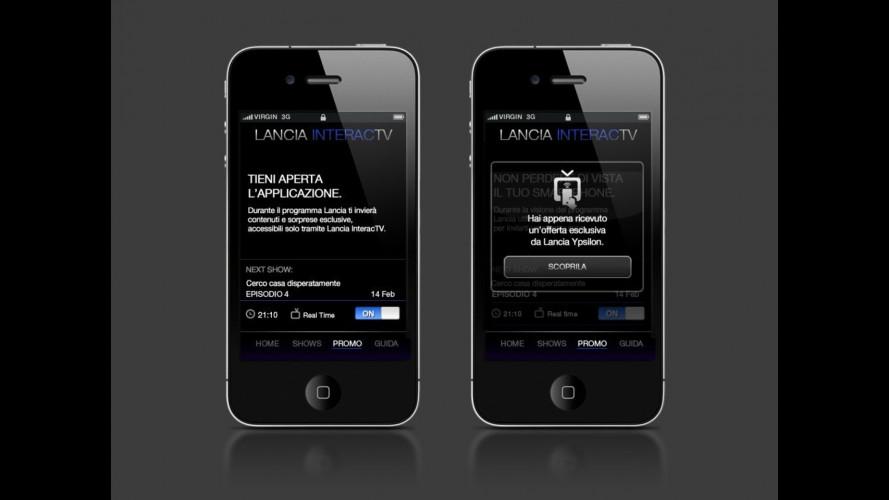 Lancia InteracTV, la TV che interagisce con lo smart phone