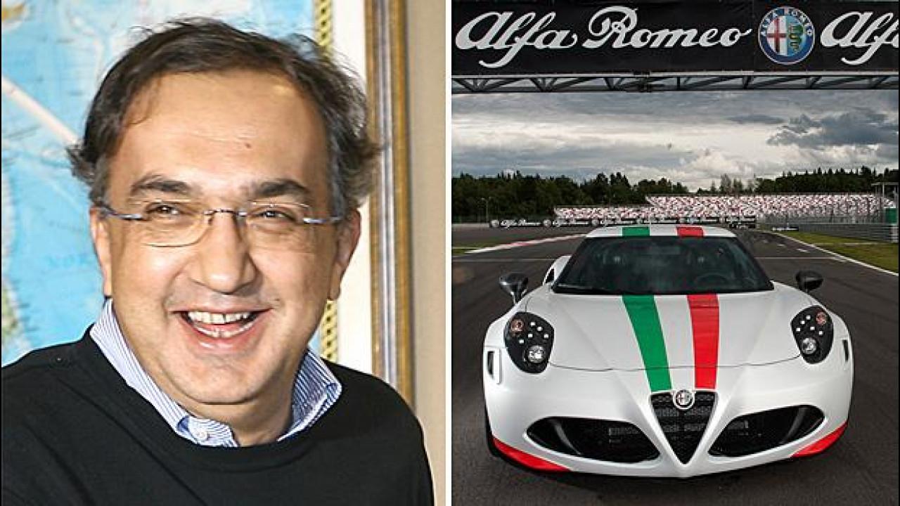 [Copertina] - Marchionne: l'Alfa Romeo non è in vendita