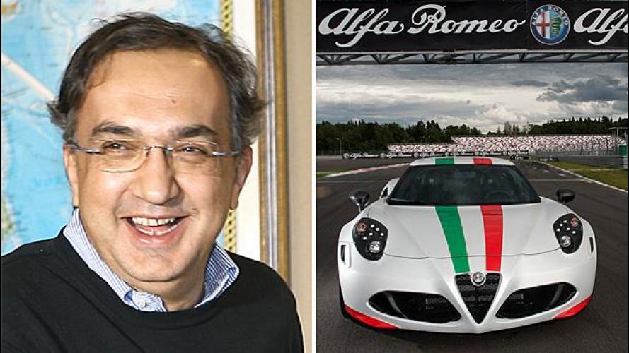 Marchionne: l'Alfa Romeo non è in vendita