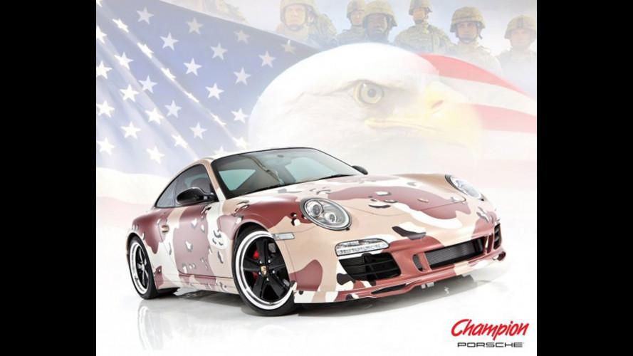 Una Porsche per il ritorno a casa dei Marines
