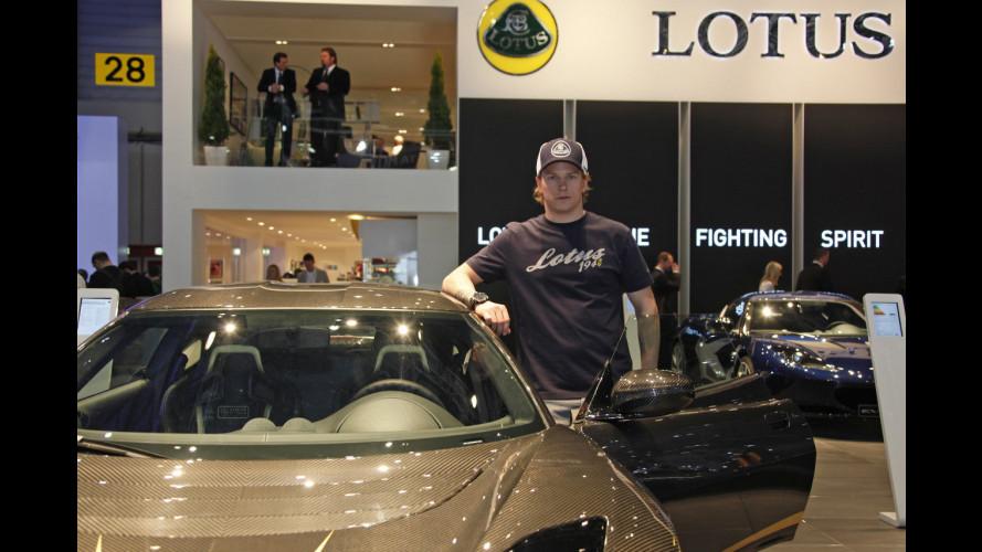 Kimi e la Lotus che non ha ancora provato...