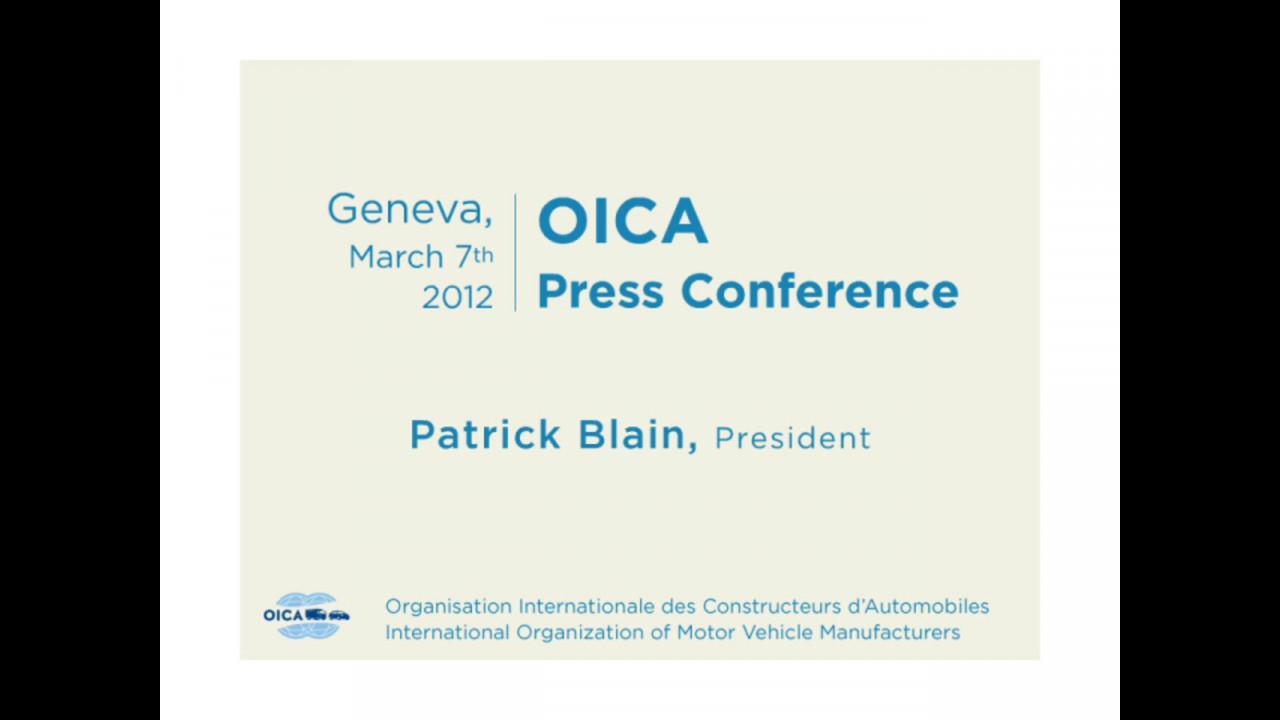OICA: la produzione mondiale nel 2011