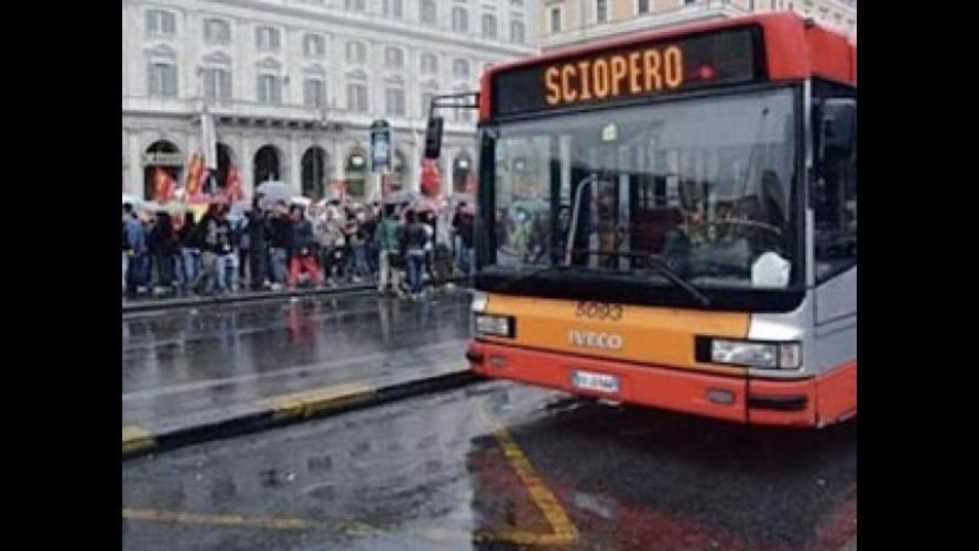 Sciopero trasporti a Roma venerdì 8 febbraio, tutte le informazioni