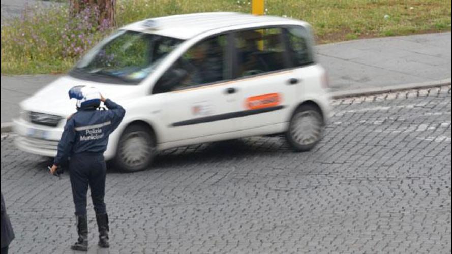 Blocco del traffico a Roma per la parata del 2 giugno
