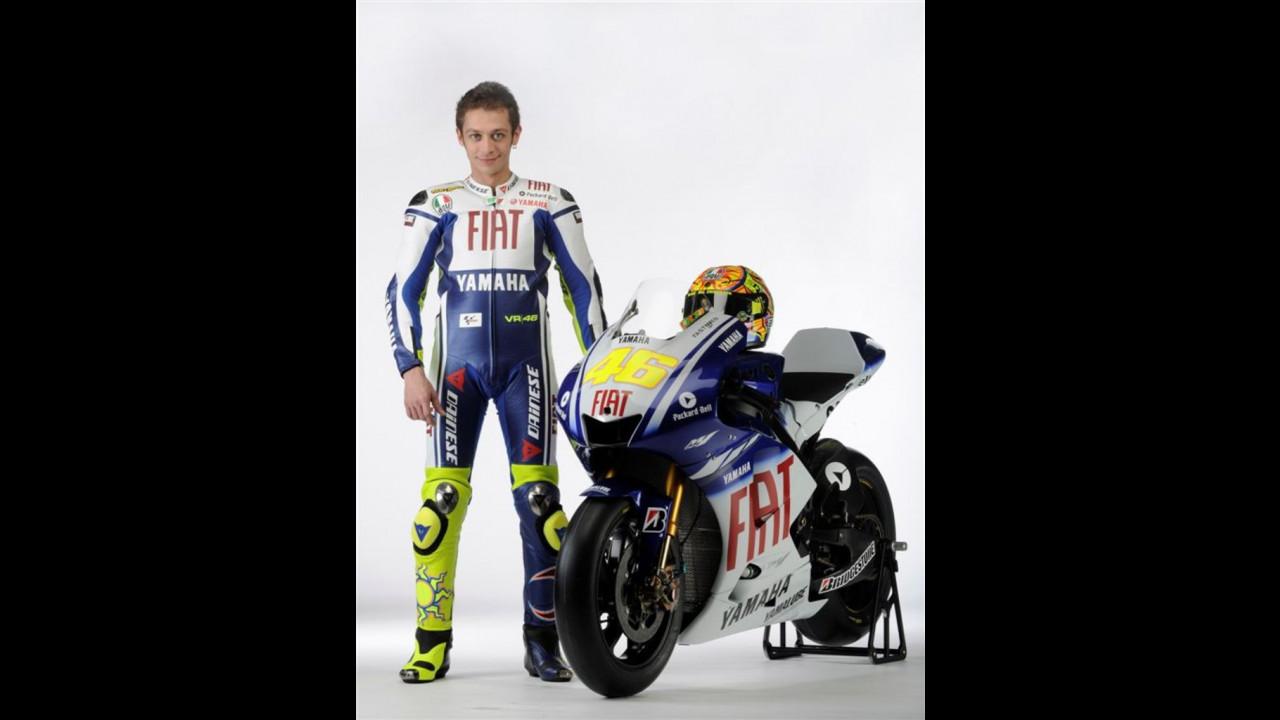 Fiat e Yamaha - Valentino Rossi