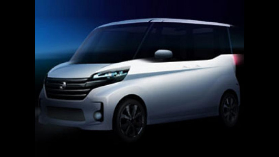 Nissan DAYZ ROOX, il minivan del 2014