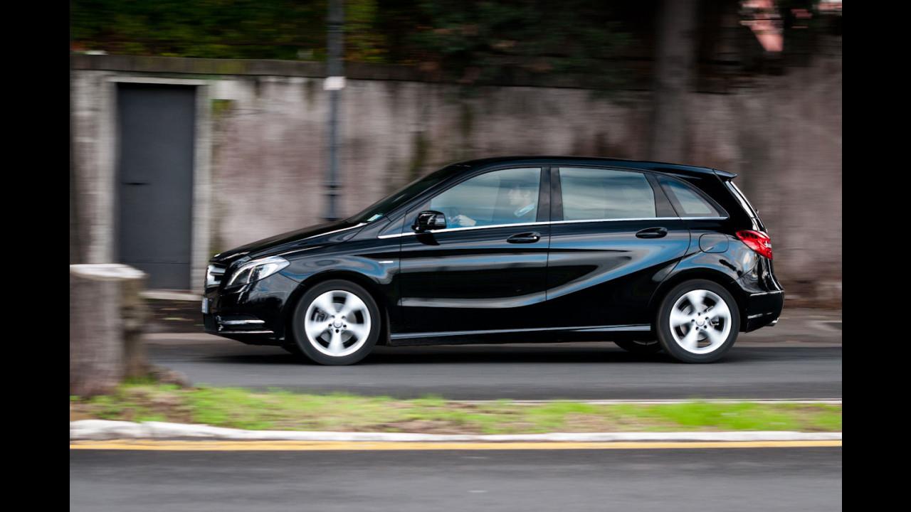 Mercedes B 200 CDI BlueEFFICIENCY Premium - TEST