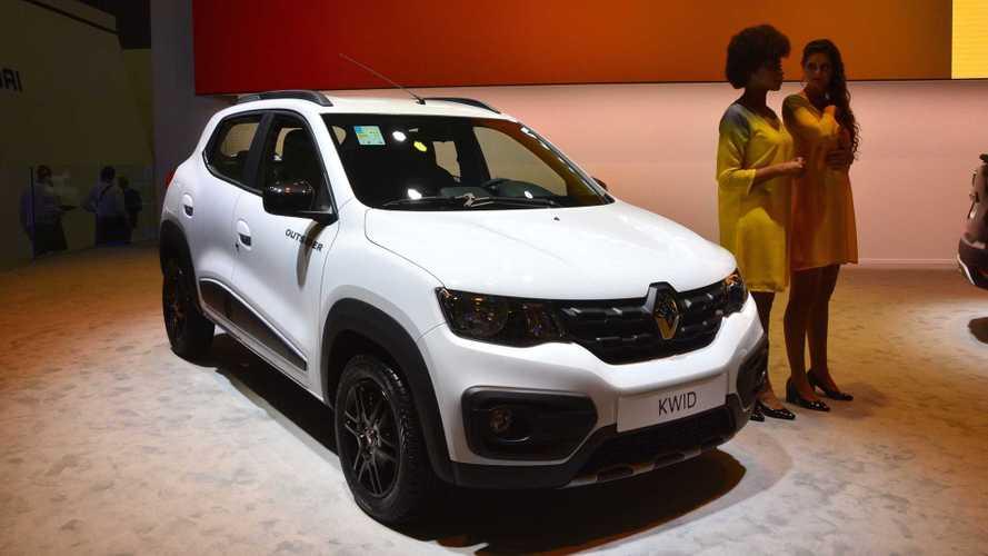 """Salão de SP: Renault Kwid ganha versão aventureira """"Outsider"""""""