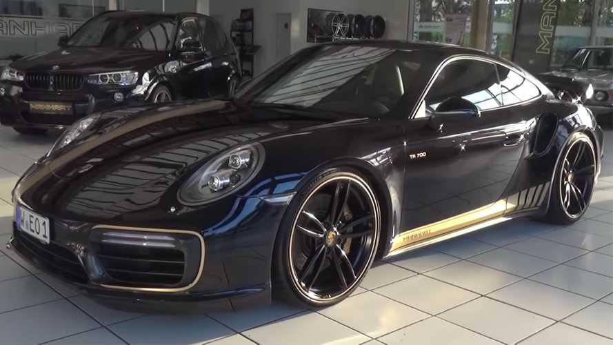 Manhart's Porsche 911 Turbo Has More Power Than A GT2 RS