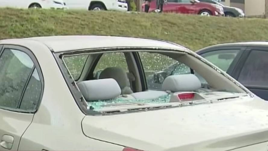 Softball-Sized Hail Destroys More Than 400 Cars At Colorado Zoo