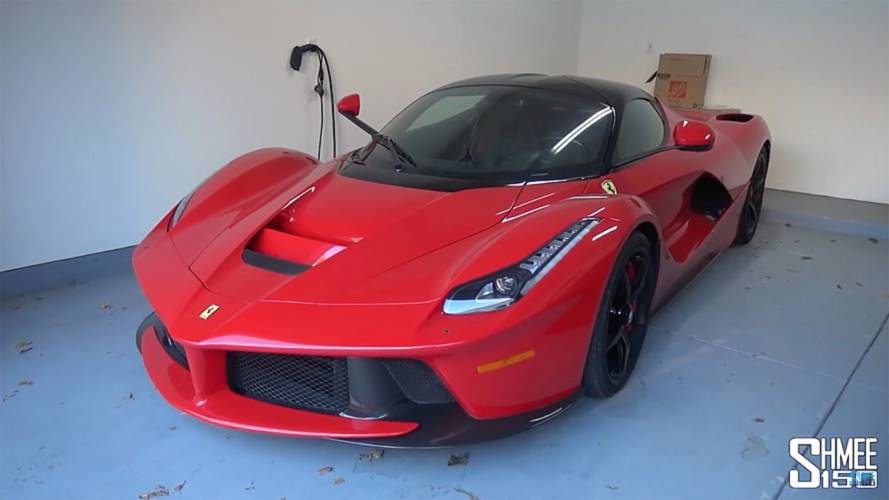 Straight-piped LaFerrari sounds as glorious as you'd expect