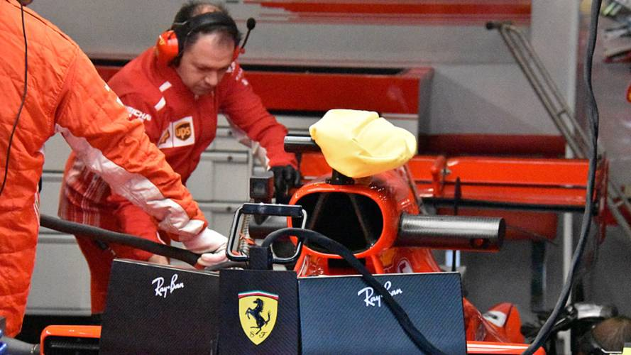 FIA tells Ferrari to stop using camera cooling bag