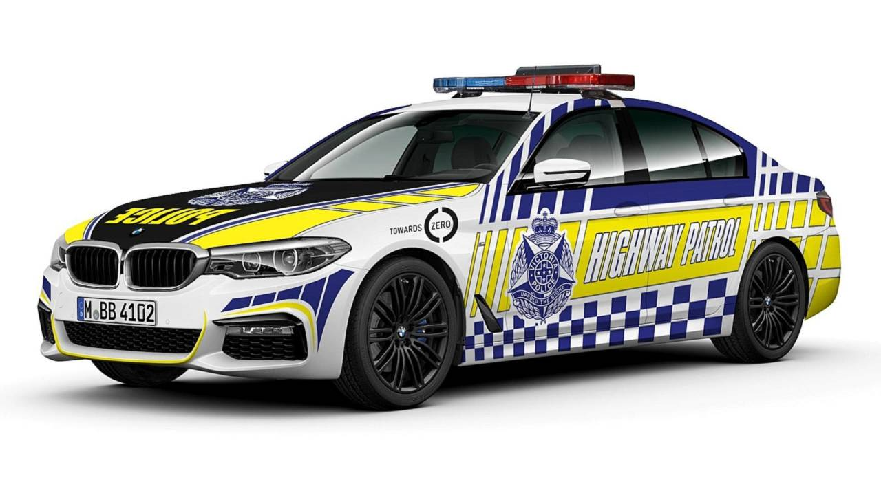 Victoria Police BMW 530d