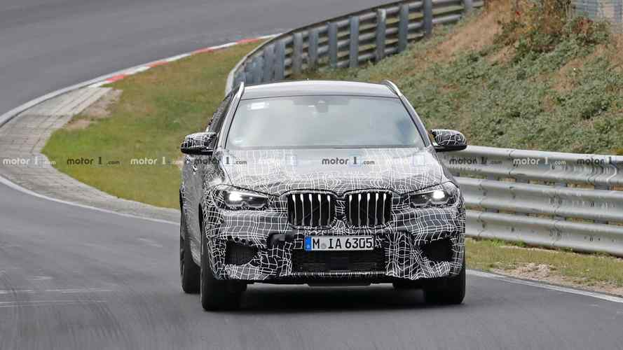 BMW X6 M Spy Photos