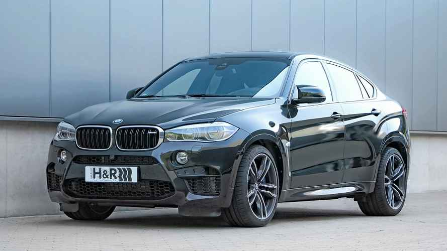 H&R Gewindefedern für BMW X6 und X6 M