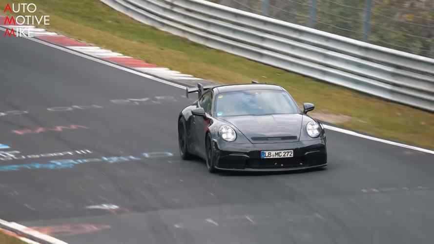2019 Porsche 911 GT3, Nürburgring'de görüntülendi