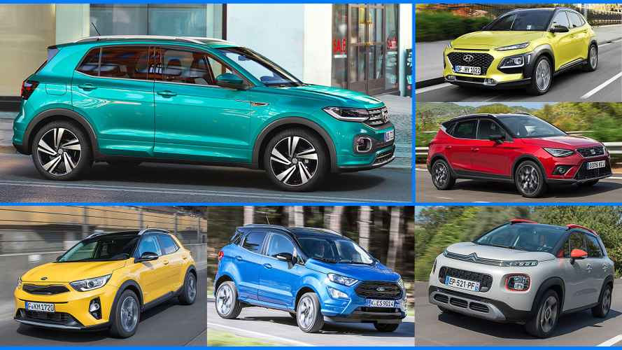 14 Small SUVs The VW T-Cross Will Challenge