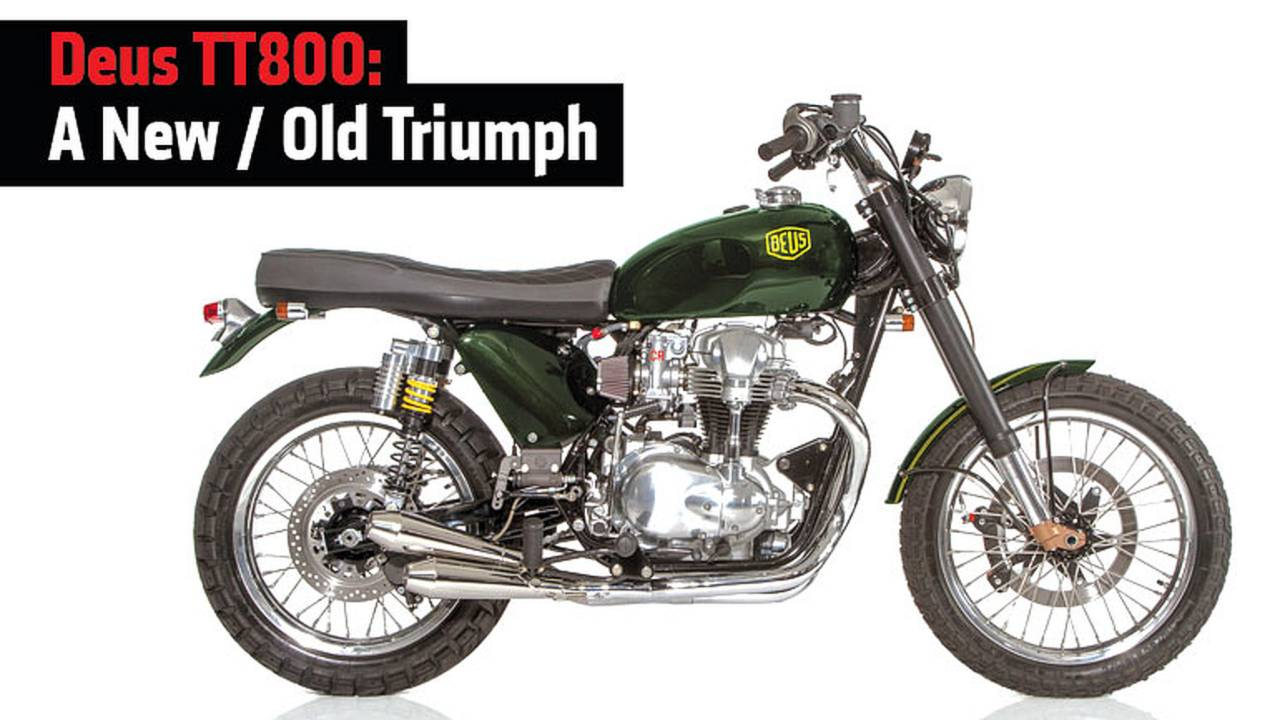Deus TT800: A New / Old Triumph