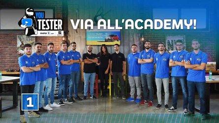 YouTester, apre ufficialmente l'Academy di Motor1.com