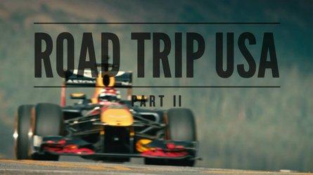 VIDÉO - Verstappen visite les États-Unis... en F1 !