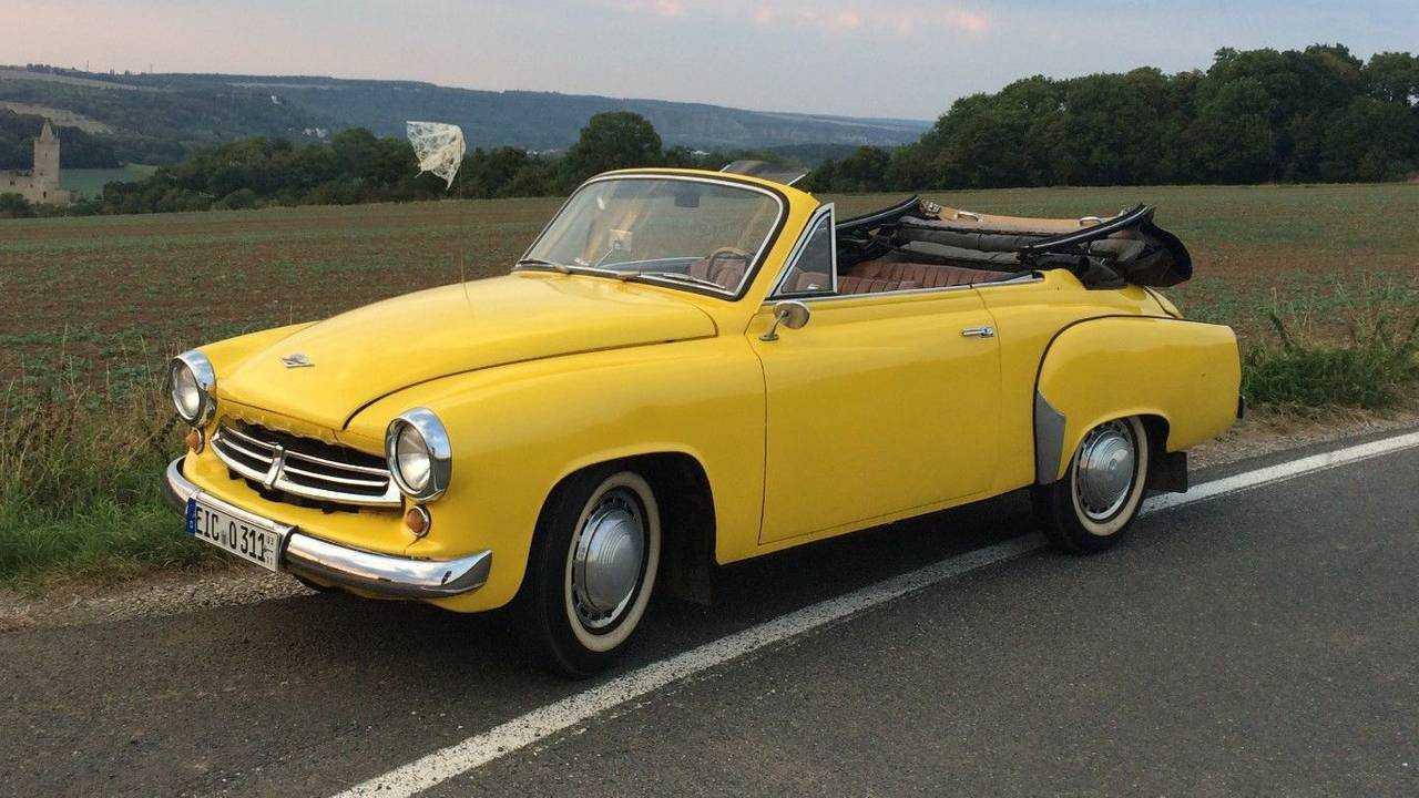 1956 Wartburg 311 Kabriolett - $57,900