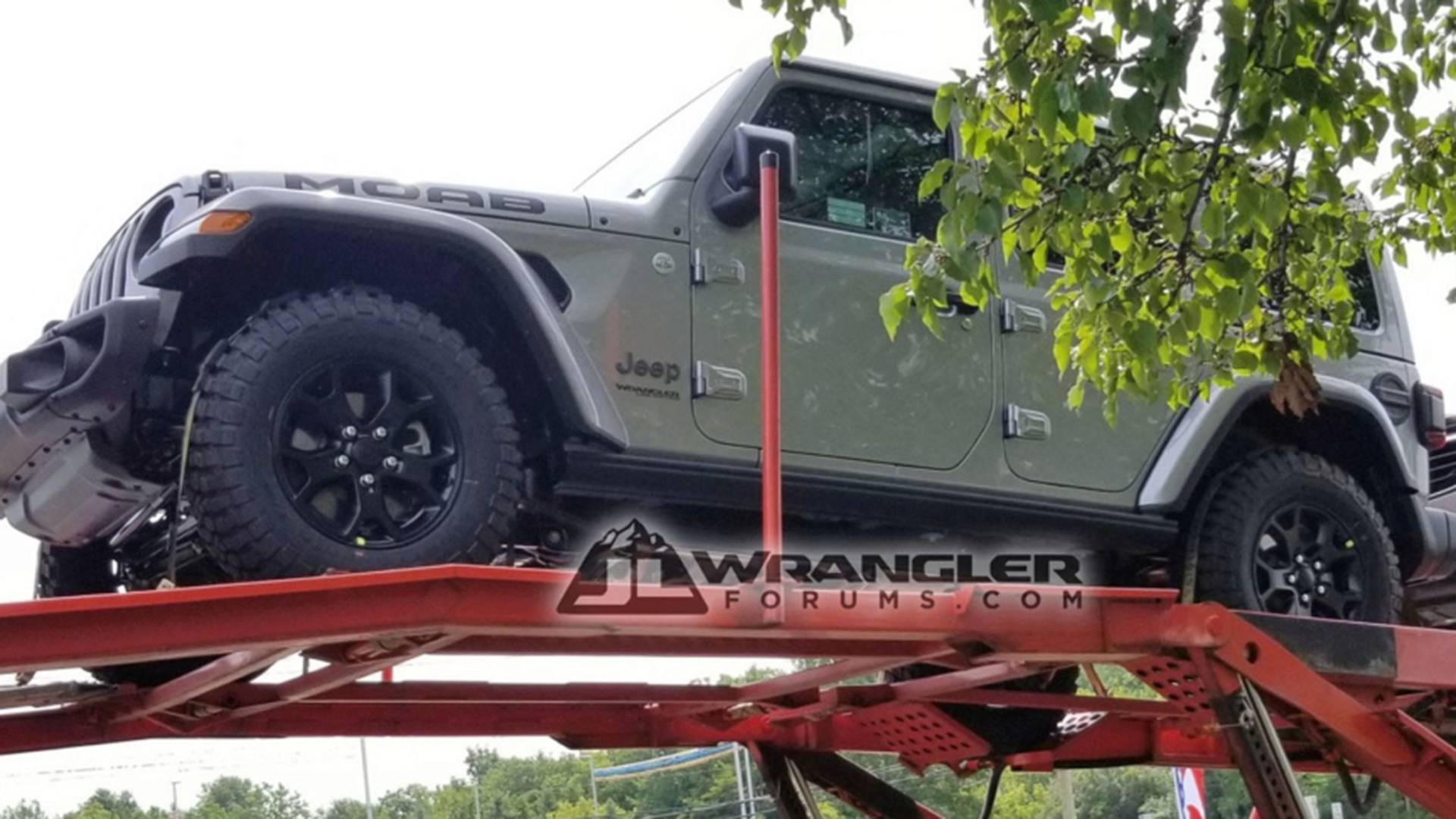 Possible Jeep Wrangler Unlimited Moab Spied Looking Tough