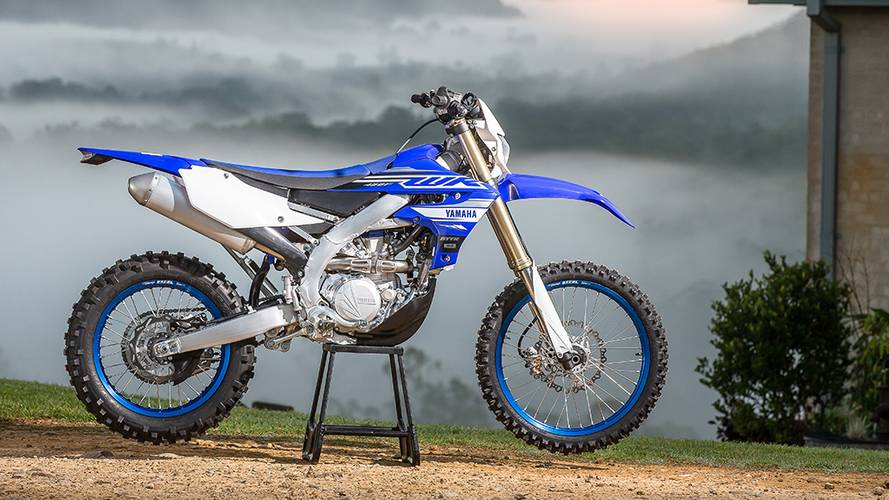 Brand New Yamaha WR450F Redesigned for 2019