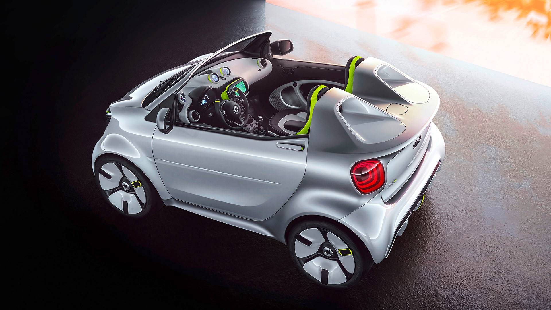 Smart Forease Tiny Speedster Revealed Ahead Of Paris Launch   Img credit -- motor1