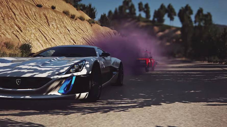 The Grand Tour video game lets you be Clarkson, Hammond and May