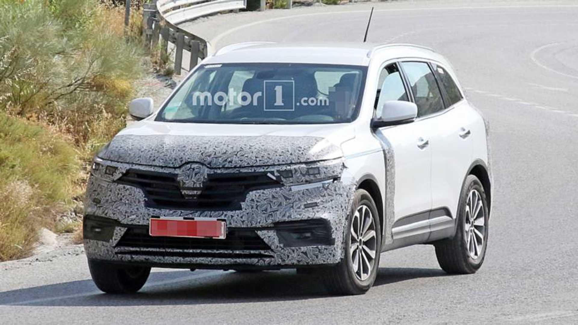 Renault Koleos Spied Hiding A Modest Facelift