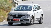 Renault Koleos facelift spy photo