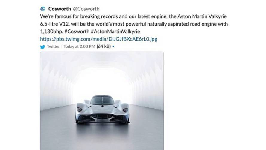 Aston Martin Valkyrie puissance